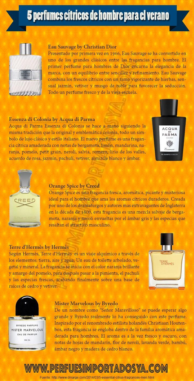 perfumes cítricos de hombre