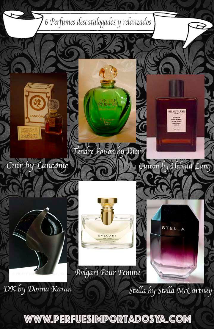 perfumes descatalogados