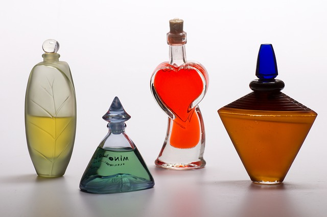 esencias de perfumes