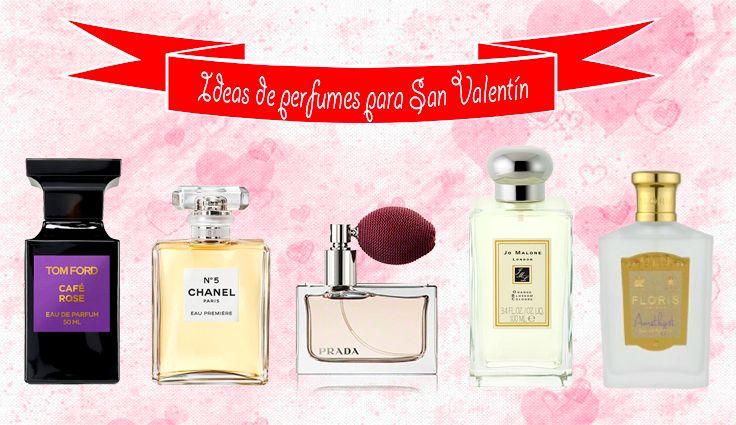 ideas de perfumes para regalar en San Valentín